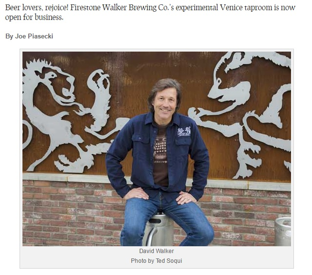 Firestone Walker Brewing Venice
